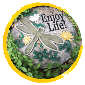 garden plaque_circled